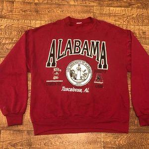 Other - Vintage University Alabama College Seal Crewneck